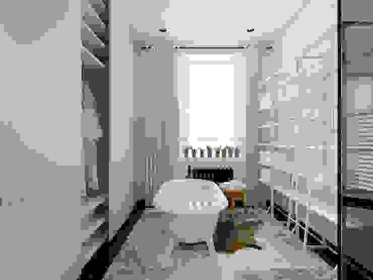 Дом в Москве, 600 кв.м Ванная в классическом стиле от Валерия Лазарева - архитектор, дизайнер интерьера Классический
