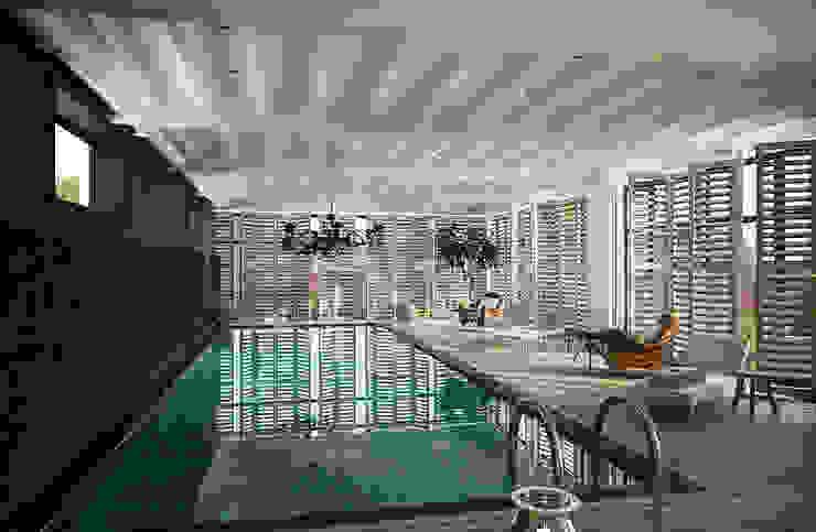 Дом в Москве, 600 кв.м Бассейн в классическом стиле от Валерия Лазарева - архитектор, дизайнер интерьера Классический