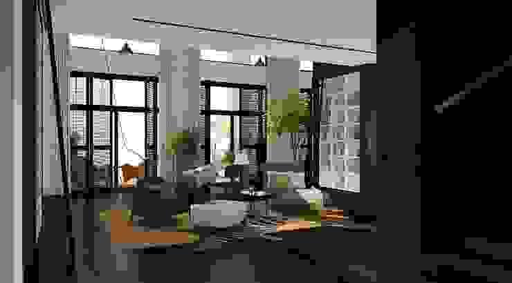 Дом в Москве, 600 кв.м Гостиная в классическом стиле от Валерия Лазарева - архитектор, дизайнер интерьера Классический