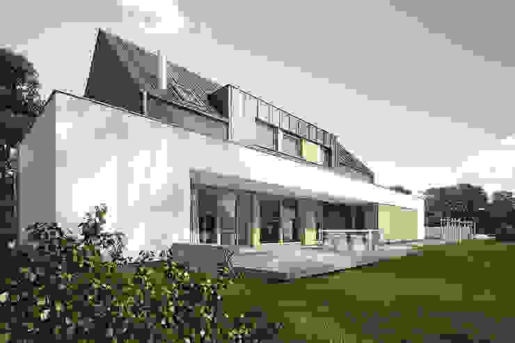 Дома в стиле модерн от Konrad Idaszewski Architekt Модерн