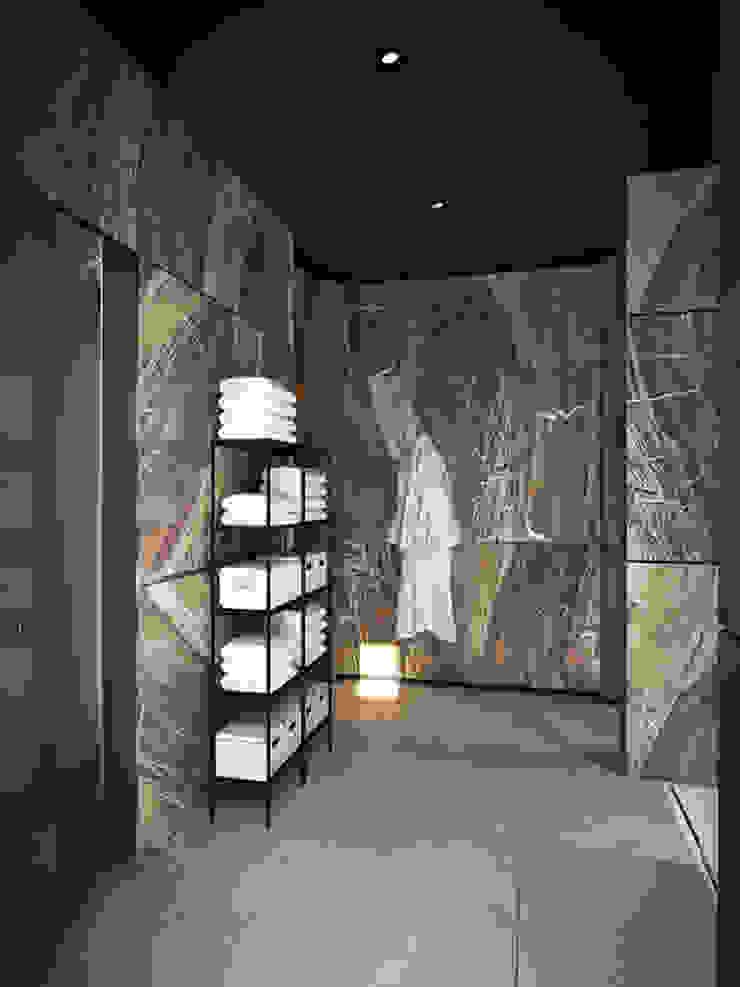 Дом в Москве, 600 кв.м Ванная комната в стиле минимализм от Валерия Лазарева - архитектор, дизайнер интерьера Минимализм