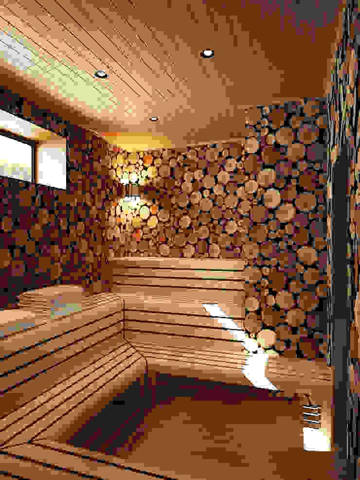 Дом в Москве, 600 кв.м Спа в стиле минимализм от Валерия Лазарева - архитектор, дизайнер интерьера Минимализм