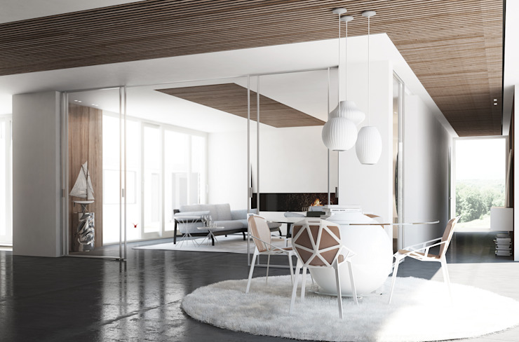 Porta scorrevole easy-S Staino&Staino Finestre & Porte in stile moderno