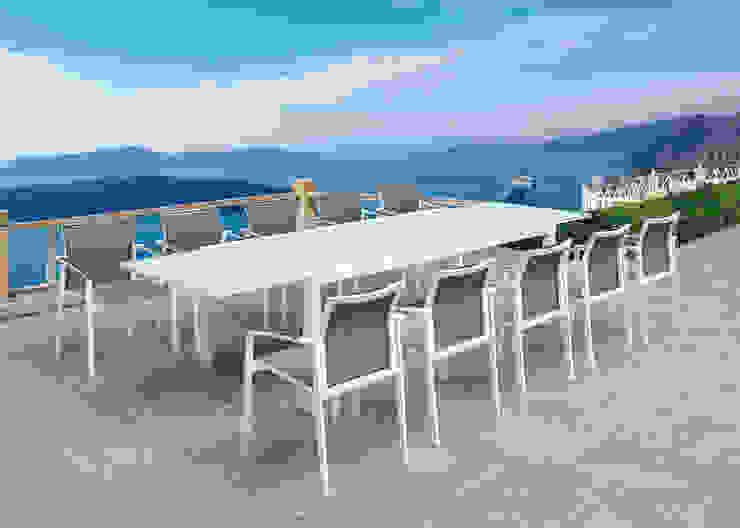 Conjunto Curve de SYD Muebles de Jardin Mediterráneo