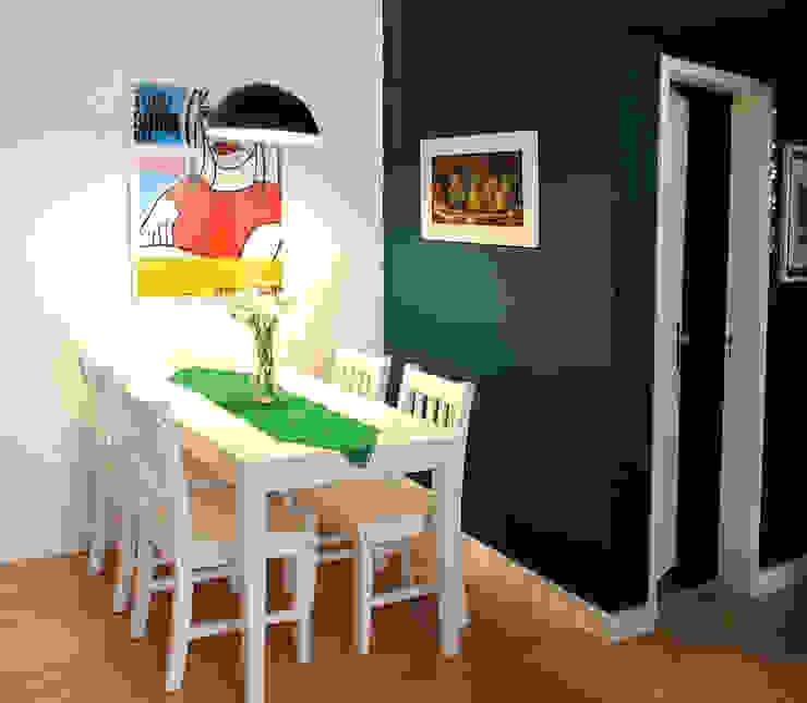 Santa Cecília Flat Salas de jantar modernas por Red Studio Moderno