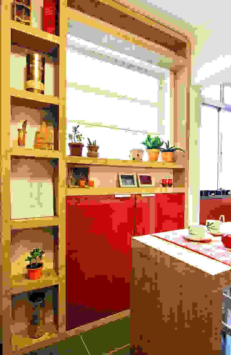 Cozinha Vermelha Cozinhas modernas por Red Studio Moderno