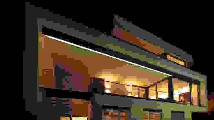 wirges-klein architekten Balcones y terrazas de estilo moderno