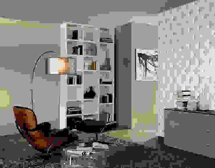 Coleccion Move Your Wall Paredes y suelos de estilo moderno de Disbar Papeles Pintados Moderno