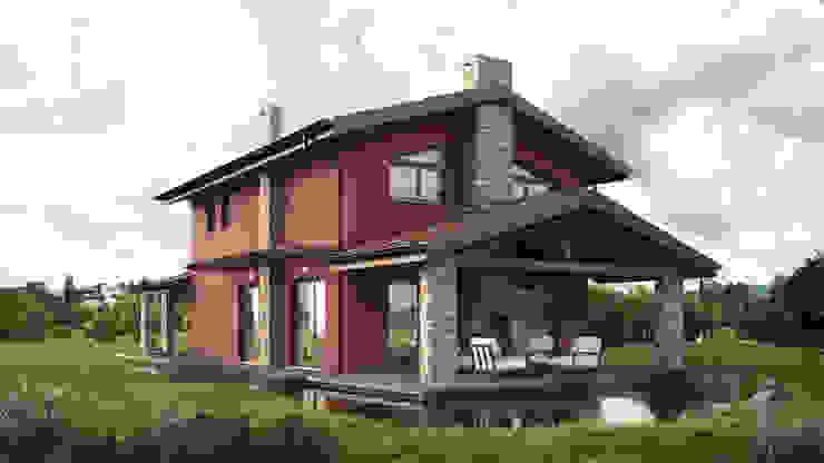 Дома в классическом стиле от DomusGaia Классический
