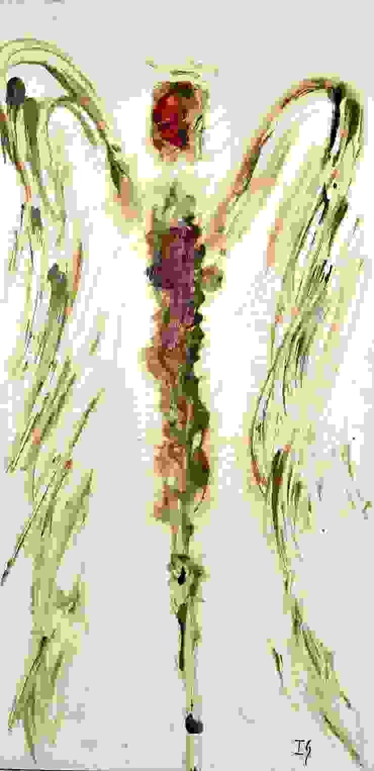 Obras de Ángeles de Galeria Ivan Guaderrama Rústico