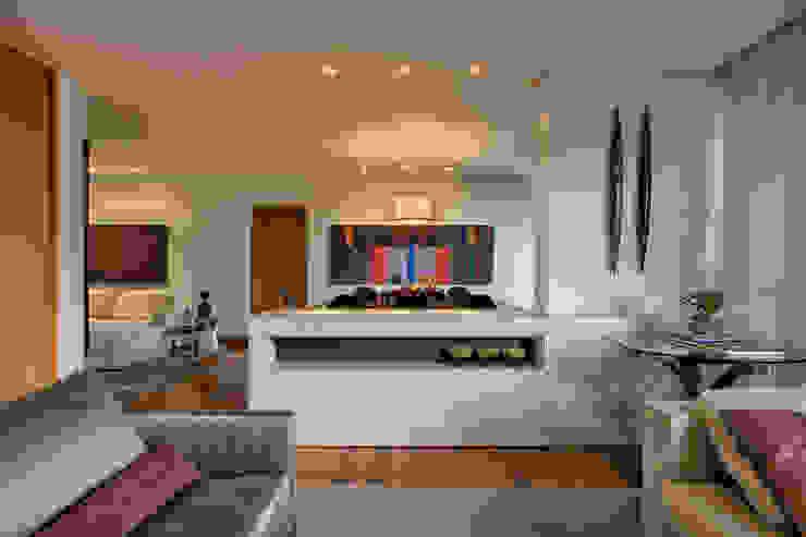 Salas de Estar / Jantar Lage Caporali Arquitetas Associadas Salas de estar modernas