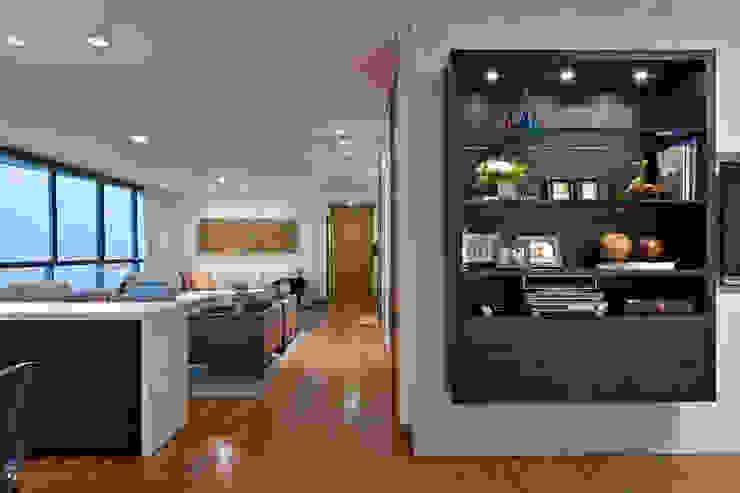 Salas de Estar / Home Theater Lage Caporali Arquitetas Associadas Salas de estar modernas
