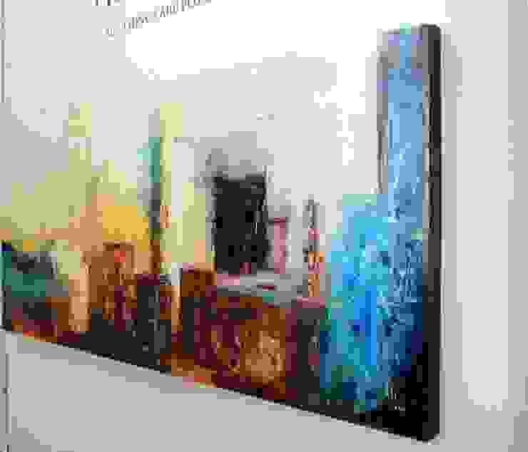 Obras Abstractas Salones eclécticos de Galeria Ivan Guaderrama Ecléctico