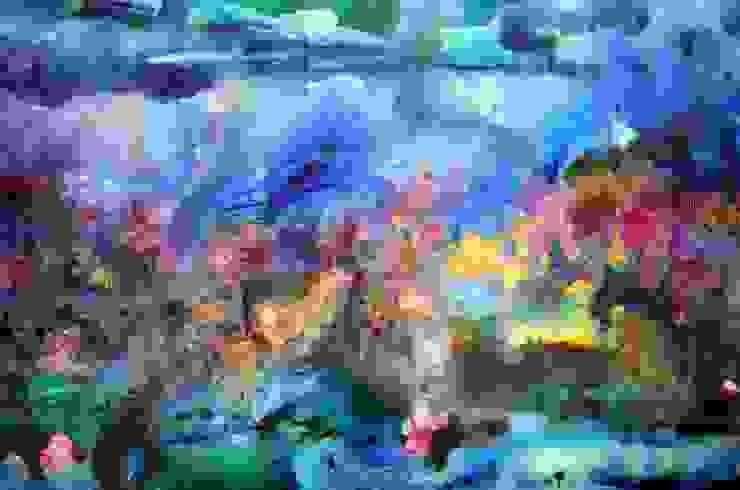 Obras Abstractas de Galeria Ivan Guaderrama Moderno