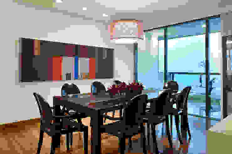 Sala de Jantar Lage Caporali Arquitetas Associadas Salas de jantar modernas