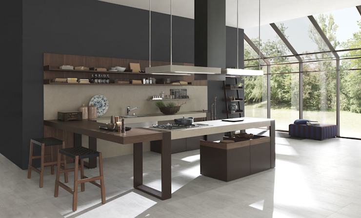 ARTS & CRAFT BY PEDINI ARTE CUCINE homify Cocinas modernas