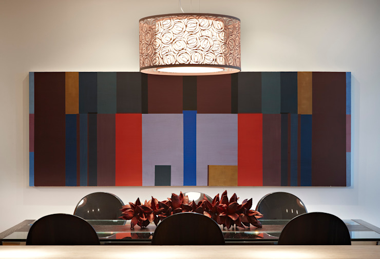 Столовая комната в стиле модерн от Lage Caporali Arquitetas Associadas Модерн