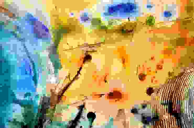 Obras Abstractas de Galeria Ivan Guaderrama Ecléctico