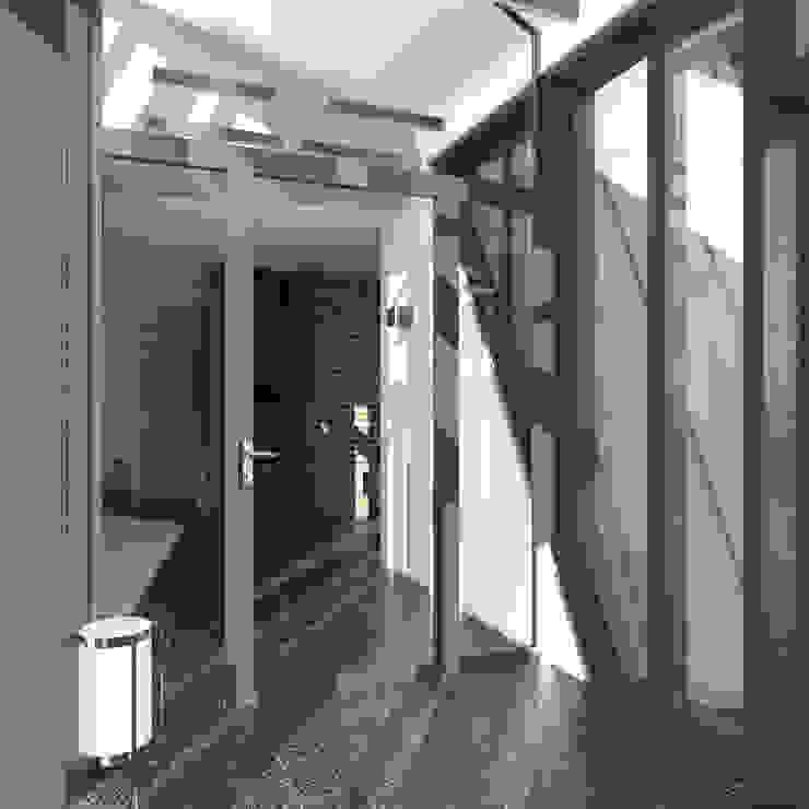 Треугольный Дом из концептуальной серии <q>Чеснок</q> Зимний сад в стиле минимализм от CHM architect Минимализм