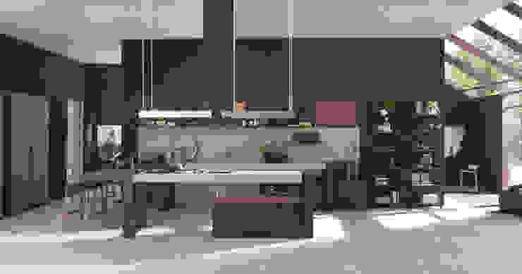 Кухня в стиле модерн от homify Модерн
