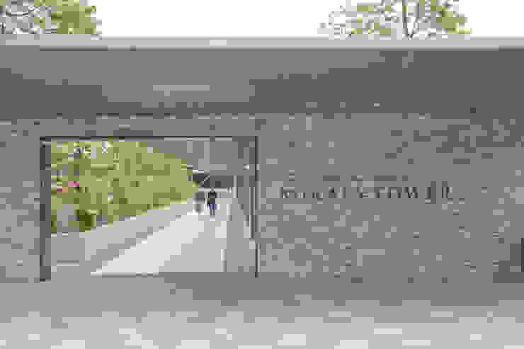 ユーカリヶ丘 スカイプラザ・ミライアタワー モダンな庭 の 株式会社 スタジオ ゲンクマガイ モダン