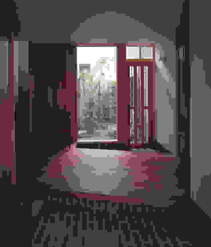 玄関 北欧スタイルの 玄関&廊下&階段 の 矩須雅建築研究所 北欧