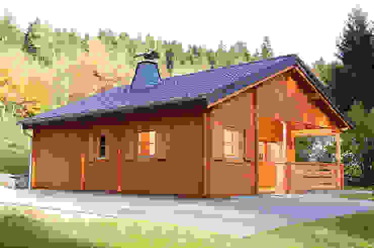 Casas de estilo rústico de Gartenhaus2000 GmbH Rústico