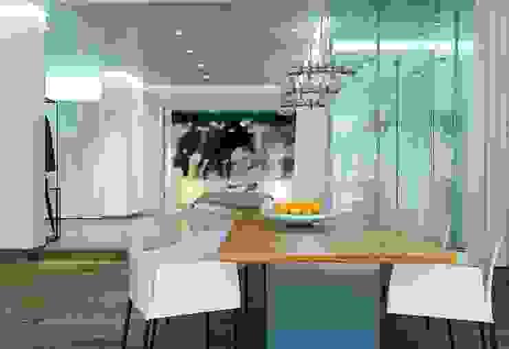 188.m.r Столовая комната в стиле минимализм от Проектная студия Вишнякова и Покровского Минимализм