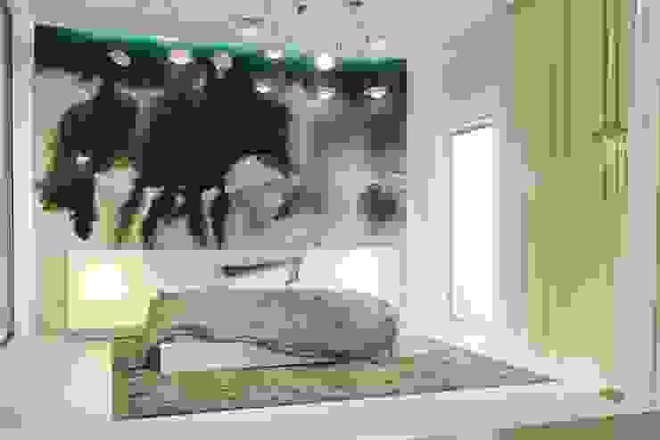 188.m.r Спальня в стиле минимализм от Проектная студия Вишнякова и Покровского Минимализм
