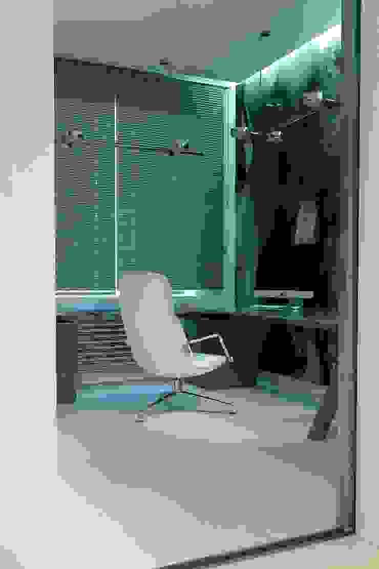 188.m.r Рабочий кабинет в стиле минимализм от Проектная студия Вишнякова и Покровского Минимализм