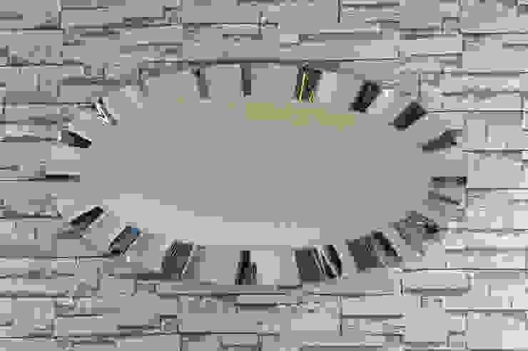 ARİŞ AYNA – Oval Modern Dalgalı Ariş Ayna: modern tarz , Modern