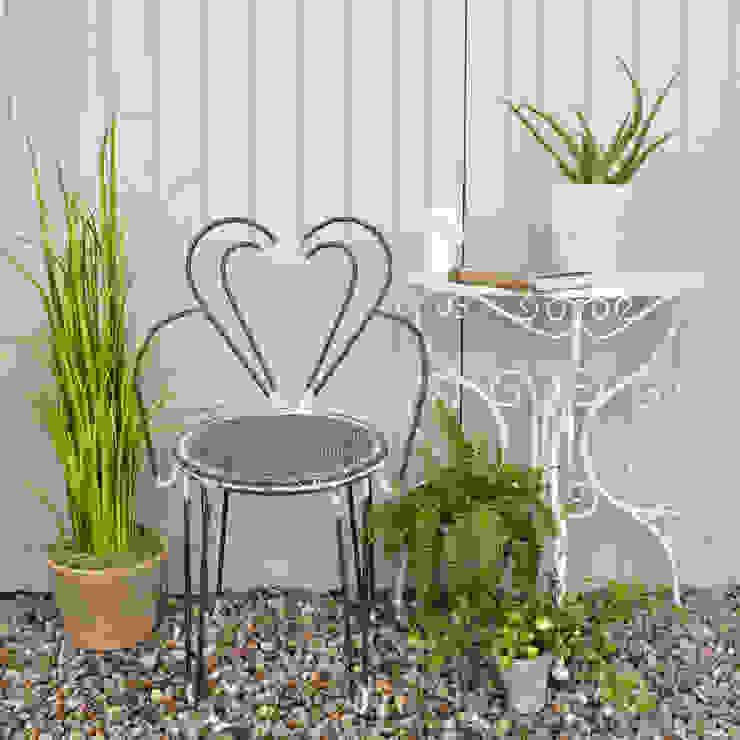 Heart Garden Chair homify Garden Furniture