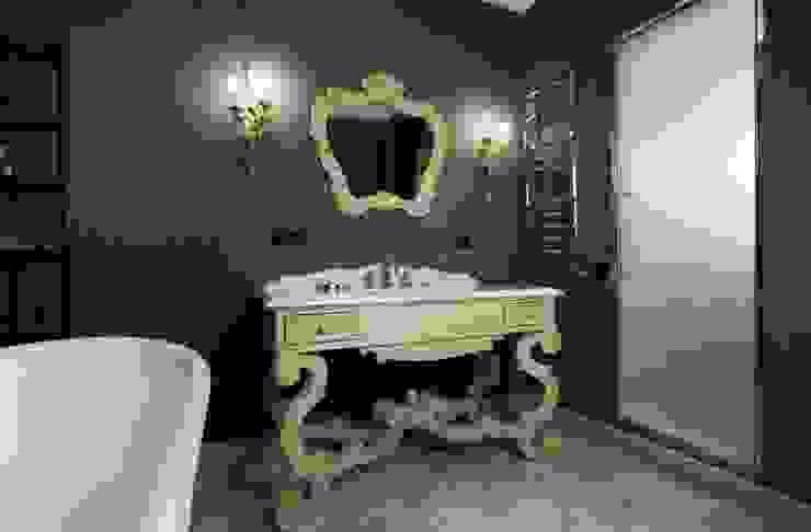 Жилой дом Ванная в классическом стиле от Студия дизайна Сергея Кривошеева Классический