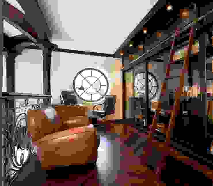 Жилой дом Рабочий кабинет в классическом стиле от Студия дизайна Сергея Кривошеева Классический
