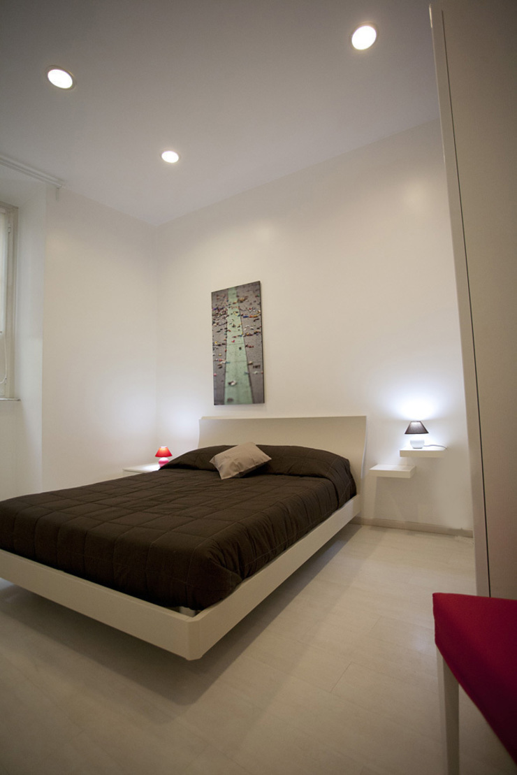 Dormitorios de estilo moderno de Pamela Tranquilli Interior Designer Moderno