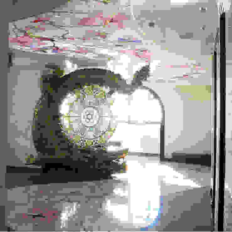 раграничение пространства Гостиная в азиатском стиле от дизайн студия Астрова Азиатский