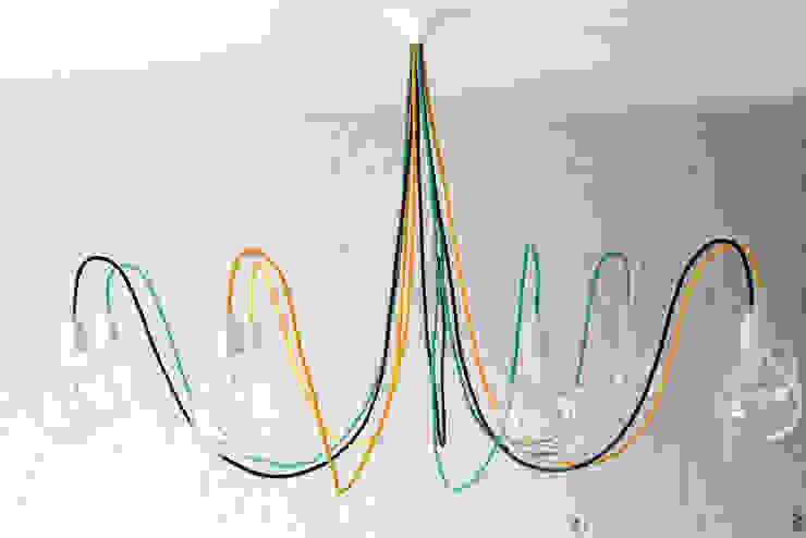 Lampa Medusa XL od CablePower Nowoczesny