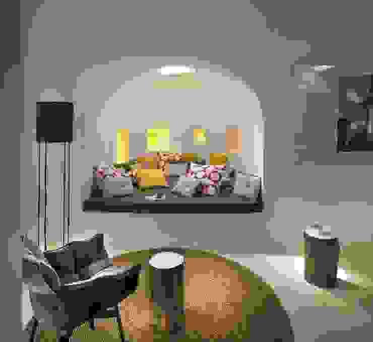Ibiza House Mediterrane woonkamers van TG Studio Mediterraan