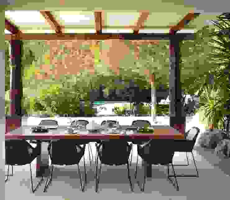 Terrace Balcone, Veranda & Terrazza in stile mediterraneo di TG Studio Mediterraneo