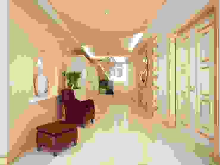 Classic style corridor, hallway and stairs by Sinar İç mimarlık Classic
