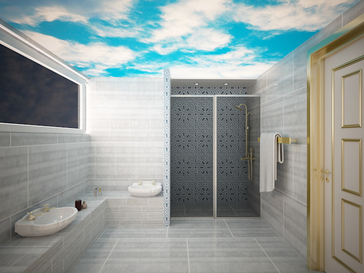 Classic style bathroom by Sinar İç mimarlık Classic