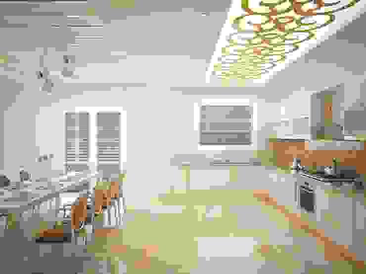 クラシックデザインの キッチン の Sinar İç mimarlık クラシック