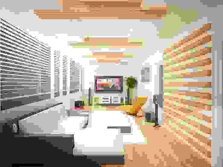 Teras, Kış Bahçesi ve Tv Odası Kolonyal Balkon, Veranda & Teras Sinar İç mimarlık Kolonyal