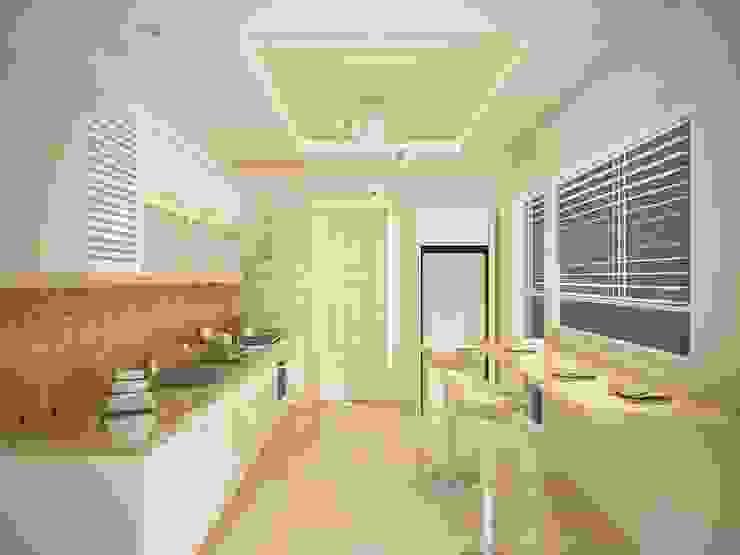 Sinem ARISOY KEÇECİ Klasik Mutfak Sinar İç mimarlık Klasik
