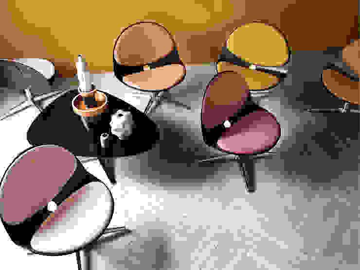 BILOBA—Justus Kolberg & Erik Simonsen Mdd Modern dining room by Stouby Modern