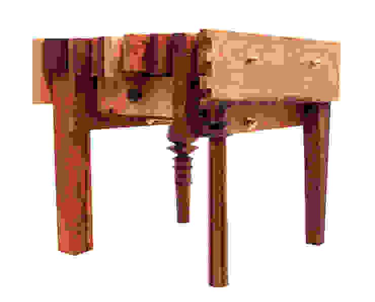 Tisch: Baumkuchen No.3 von ORTerfinder Ausgefallen Massivholz Mehrfarbig