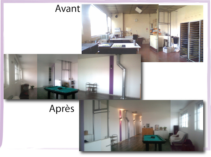 Etage Chambre industrielle par X-ACT DESIGN Industriel