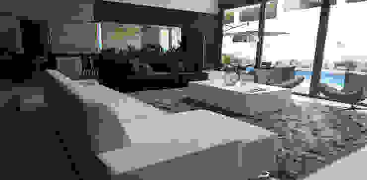 Casa La Rioja Salones modernos de STUDIO ALMEIDA DESIGN Moderno
