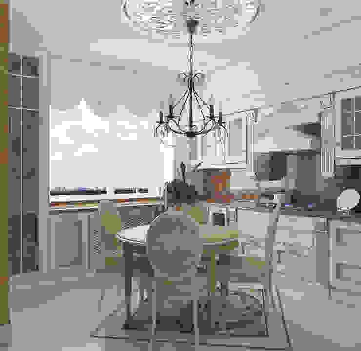квартира на Гарибальди Кухня в классическом стиле от ООО 'Студио-ТА' Классический