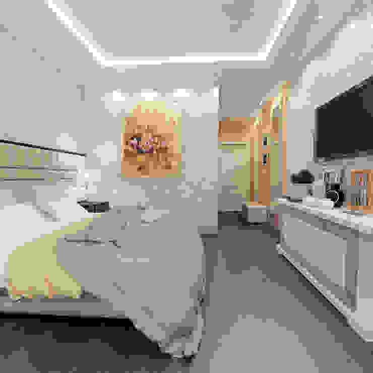 квартира на Гарибальди Спальня в классическом стиле от ООО 'Студио-ТА' Классический